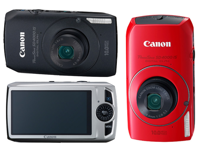 Canon PowerShot SD4000-IS