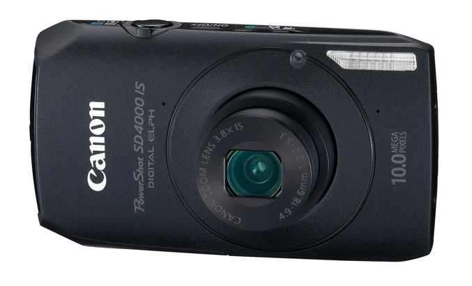 PowerShot-SD4000-IS -Black