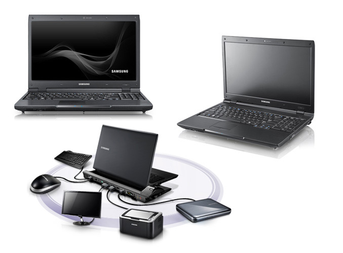 Samsung P580 notebook