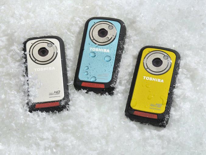 Toshiba CAMILEO BW10 Waterproof Sportcam