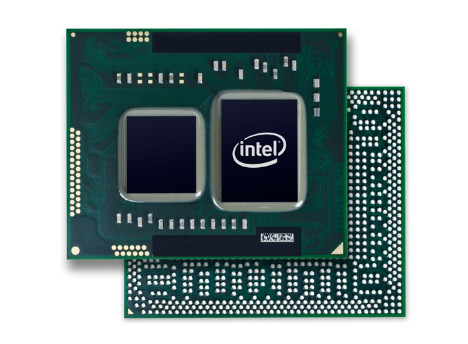 Ultra Thin Intel Core i3, i5- and i7 Processor (Arrandale)