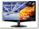 ViewSonic outs 27-inch VX2739wm HD LCD monitor with 1ms response time
