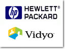 Partnership between HP and Vidyo
