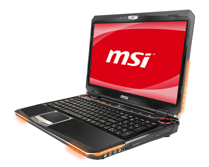 MSI GT660 gaming laptop