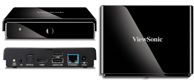 ViewSonic's new NexTV VMP75 network media player