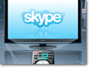 Skype services now available on new VIERA CAST
