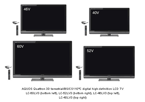 Aquos Quatron LCD TV