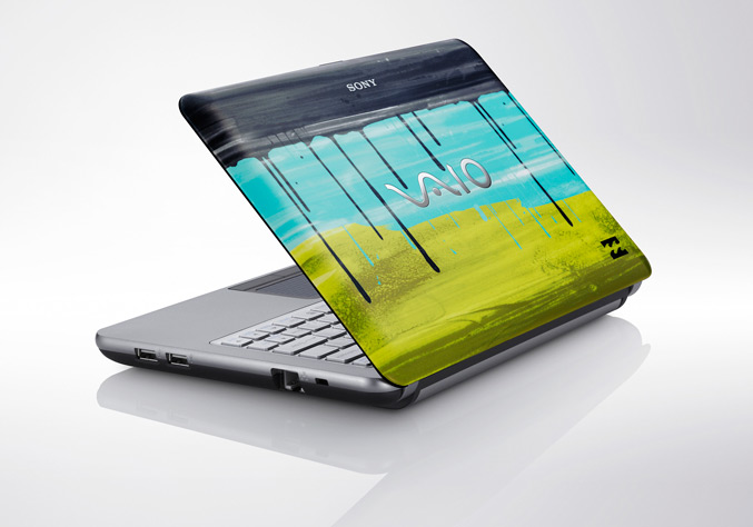 Sony VAIO W Series Imperial Lime Edition in collaboration with Billabong