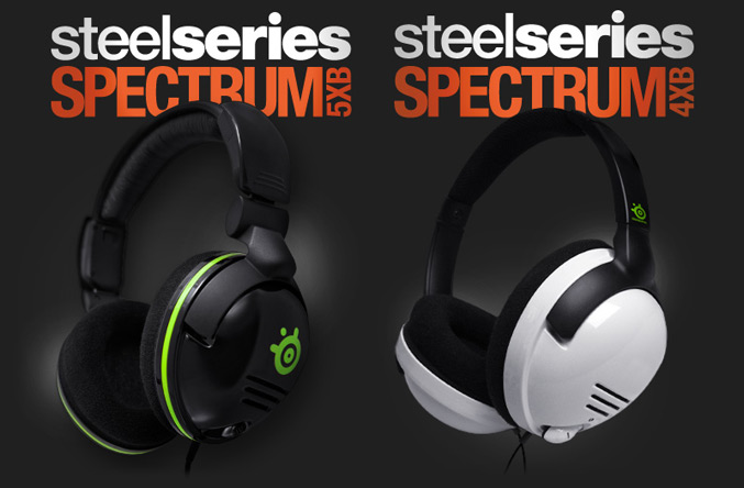 SteelSeries Spectrum 5xb and Spectrum4Xb headsets