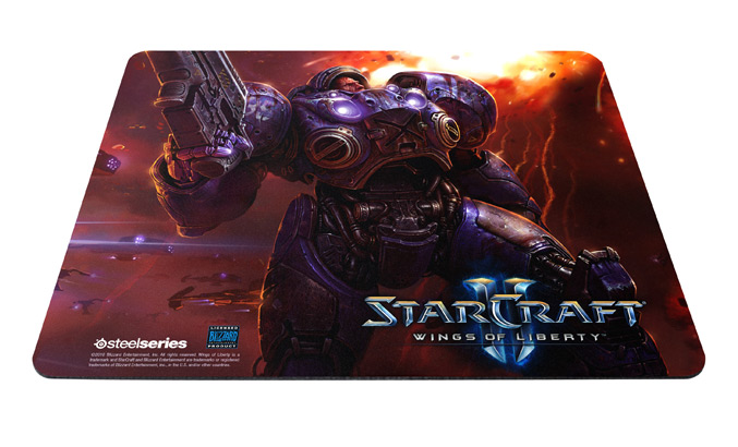 SteelSeries QcK StarCraft II Tychus Findlay Edition
