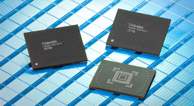 Toshiba 128GB Embedded NAND Flash Memory Modules