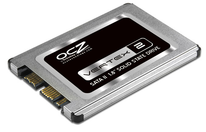 New 1.8 Inch Solid-State Drives By OCZ Technology