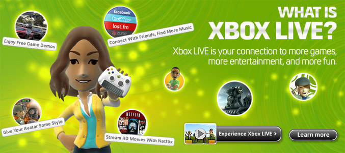 Xbox Live family subscription plan