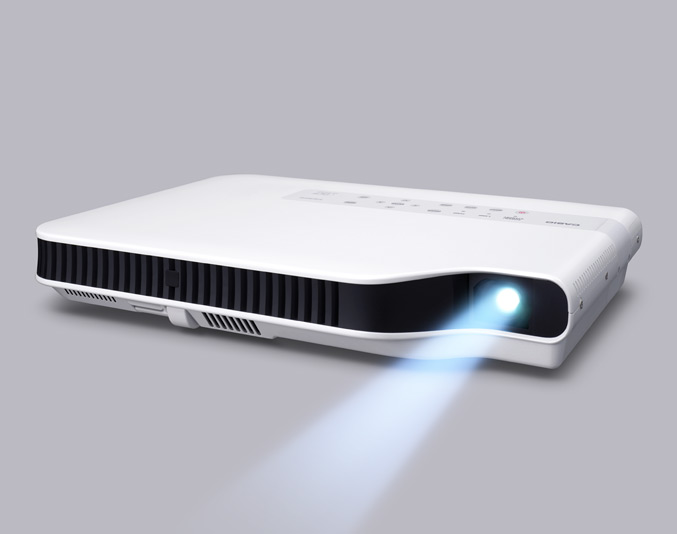 Casio Mercury-Free GREEN-SLIM Projector
