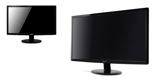 Acer S231HL and S201HL Monitors