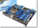 Asus Premium P6X58D Motherboard Achieved Fastest DDR3 Triple Channel Memory Speed