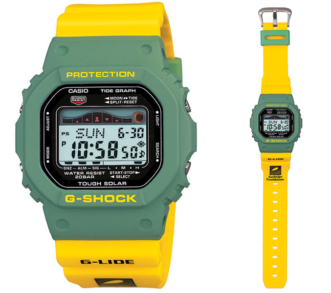 G-Shock X Surfrider Limited Edition digital watch