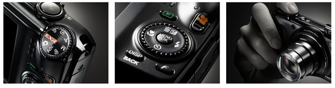 FujiFilm FinePix F300EXR digital camera