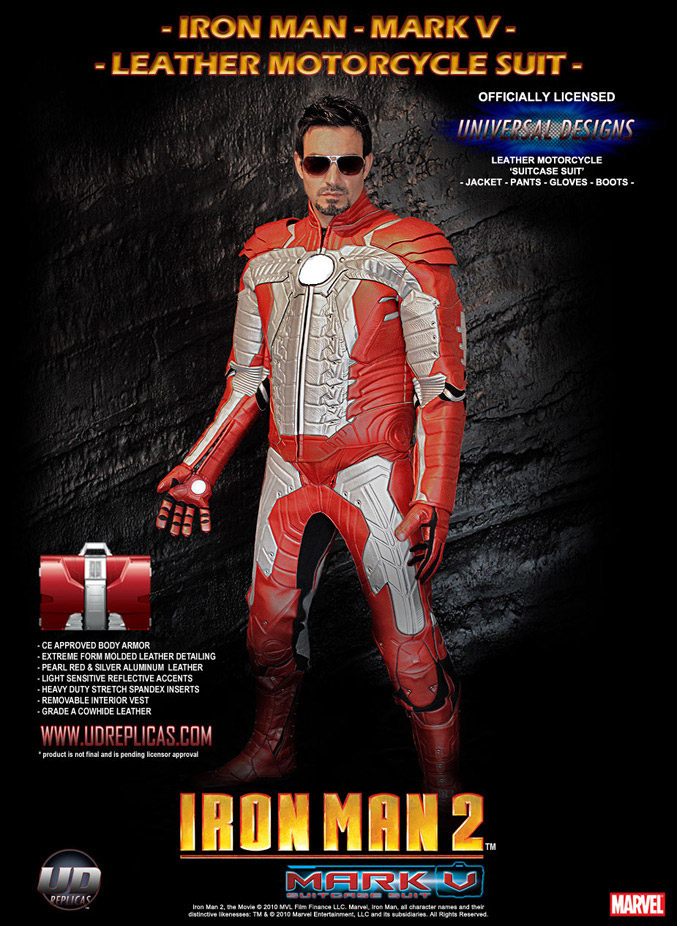 IRON MAN 2 Motorcycle Suit