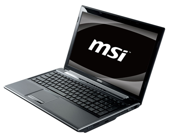 MSI FR600 laptop