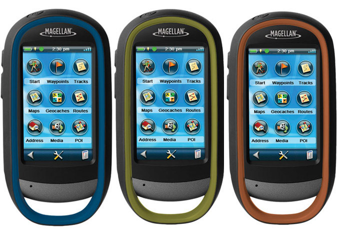 Magellan eXplorist 510, 610 and 710 GPS handhelds
