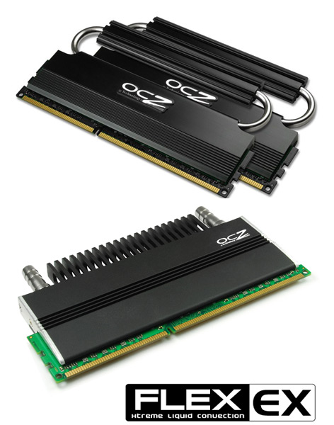OCZ Reaper HPC and Flex series DDR3 memory