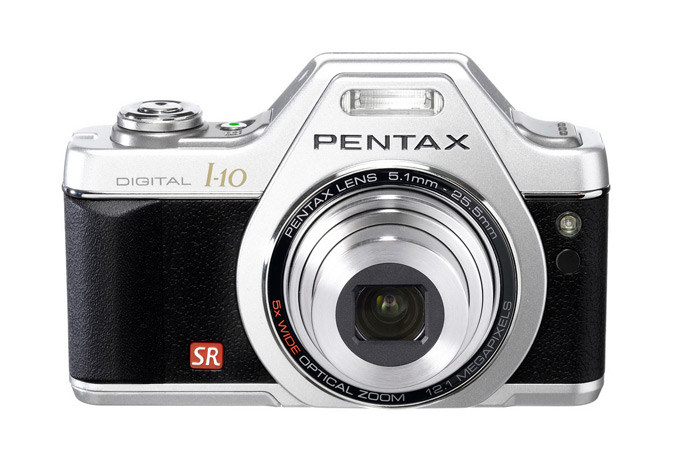 PENTAX Optio-I-10 Classic Silver