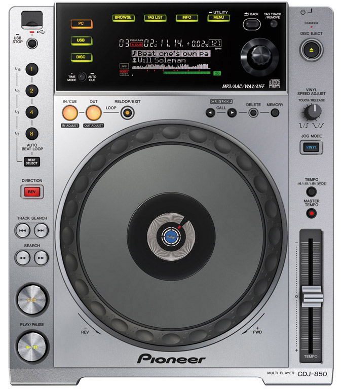 Pioneer CDJ 850 Digital Media Player