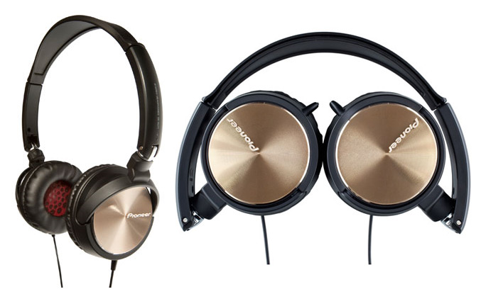 Pioneer Steel Wheels SE-MJ71-G Headphones