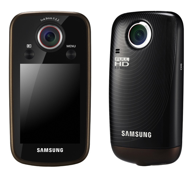 Samsung intros HMX-E10 pocket-sized camcorder