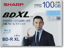 Sharp's 100GB Triple-Layer Blu-ray Disc ships July 30