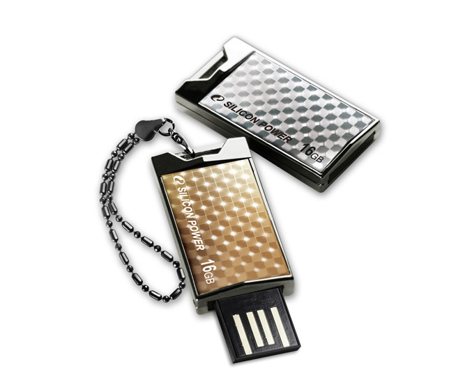 Silicon Power Touch 851 Crystal Disk USB flash drive