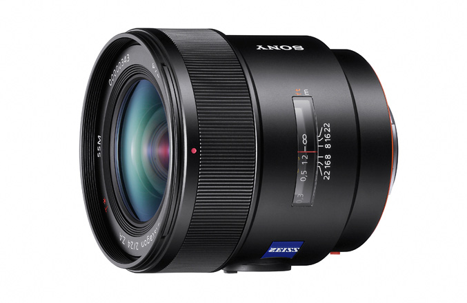 Sony Distagon T 24mm F2 ZA SSM (SAL24F20Z)