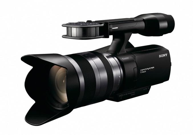 Sony NEX VG10E camcorder