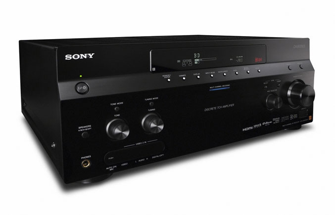 Sony STR DA5600ES New ES AV Receivers and Blu Ray 3D Player By Sony