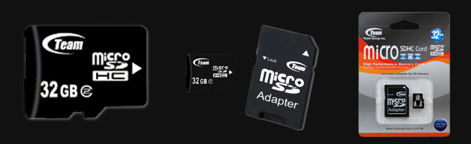 Team Group launches 32GB Class2 microSDHC