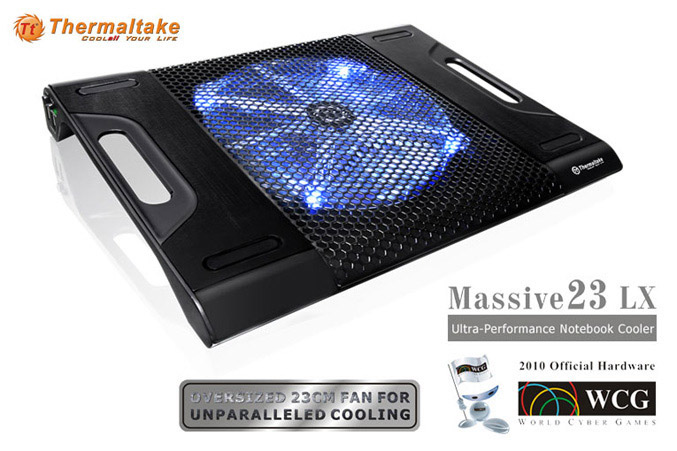 Thermaltake Massive23 LX notebook cooler