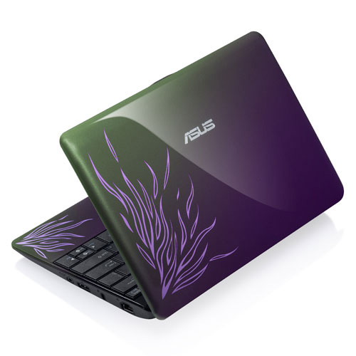 Asus Eee PC 1001PQ purple