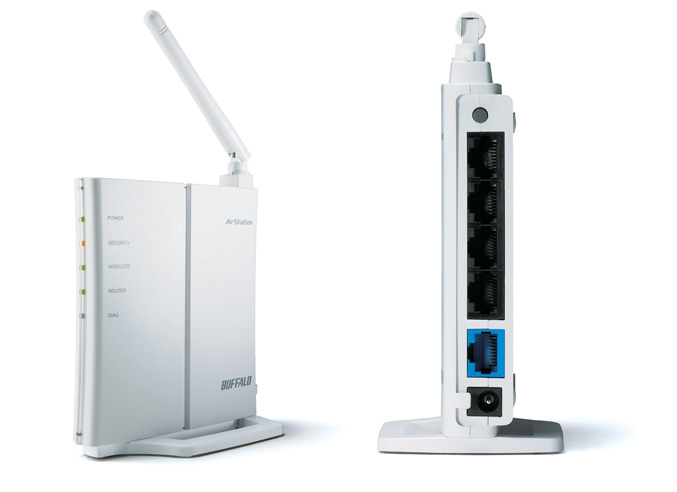 Buffalo WCR-GN Wireless-N150 Router & Access Point