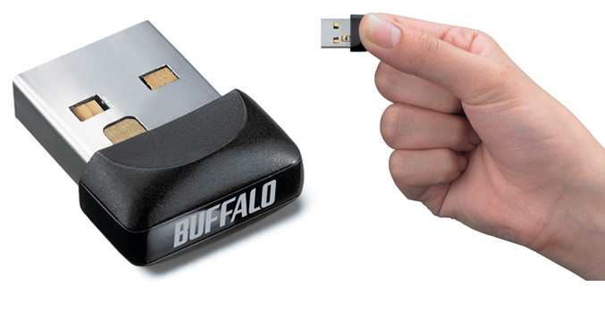Buffalo WLI-UC-GNM wireless-n usb adapter