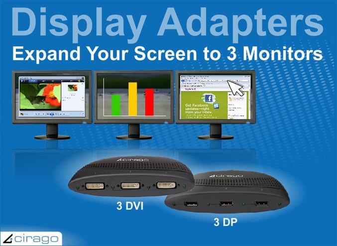 Cirago HydraDisplay Adapters