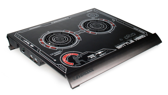 EverCool Bettle Hero Notebook Cooling Pad