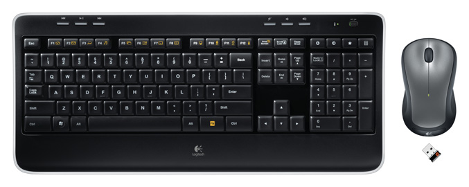 Logitech intros new Wireless Keyboard and Mouse Combo - MK520