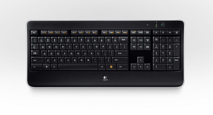 Logitech intros Wireless Illuminated Keyboard K800