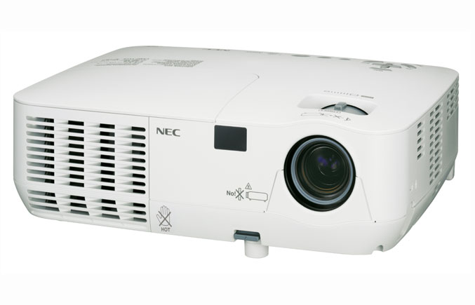 NEC NP216 3D Projector Offers High-Quality 3D Gaming
