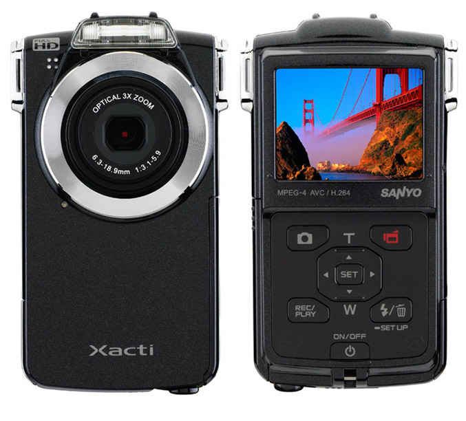 Sanyo VPC-PD2BK camera