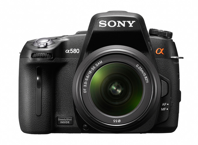 Sony unveils A580 and A560 DSLR cameras