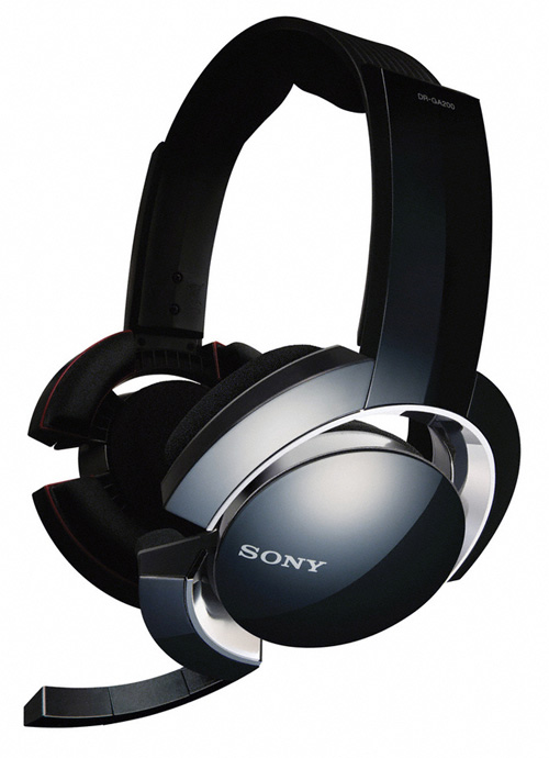 sony 39 s dr ga500 and dr ga200 gaming headsets. Black Bedroom Furniture Sets. Home Design Ideas