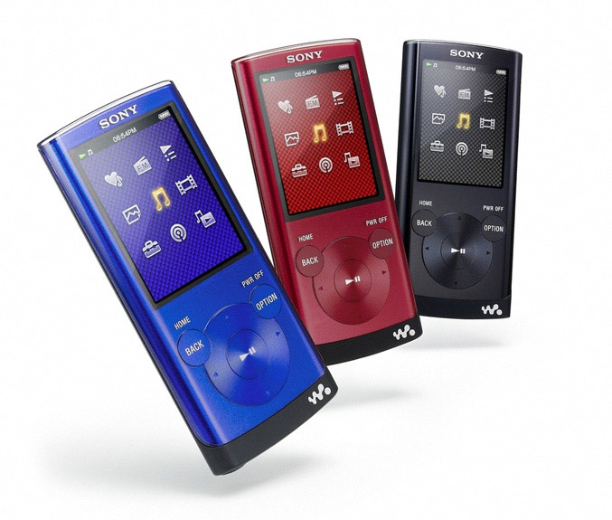 Sony Walkman NWZ-E350 Series Video MP3 Players