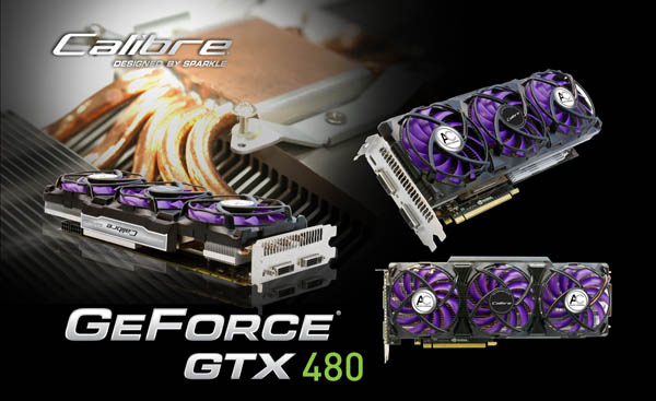 Sparcle Calibre X480 graphics card